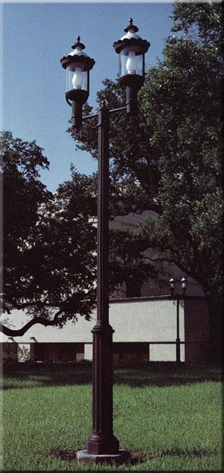 7u0027 And 9u0027 New England Base Lamp Post